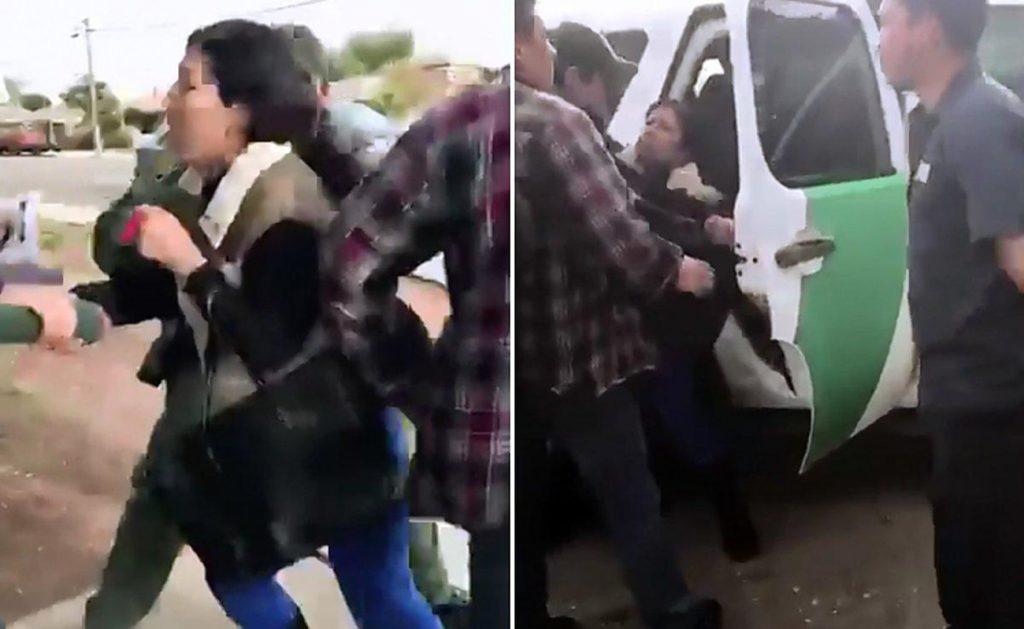 Foto25 Perla Morales Luna Patrulha defende prisão de mãe em frente às filhas