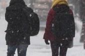 Neve no norte de New Jersey poderá acumular até 12 polegadas