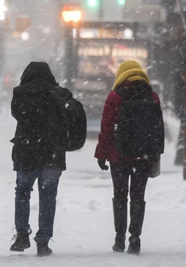 Foto5 Nevasca Neve no norte de New Jersey poderá acumular até 12 polegadas
