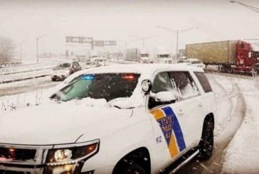 Nevasca provoca 530 acidentes nas estradas de NJ