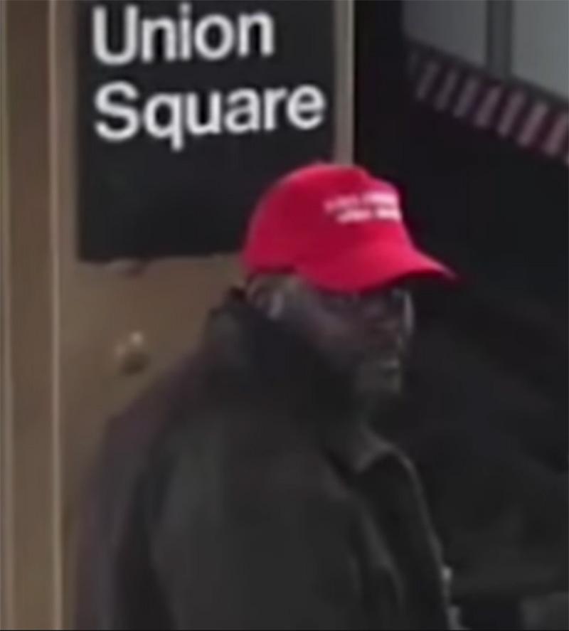 Foto13 Willie Ames Fã de Trump empurra mexicano em trilho de trem em NY