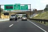 Fechamento da Parkway causa engarrafamento no final de semana
