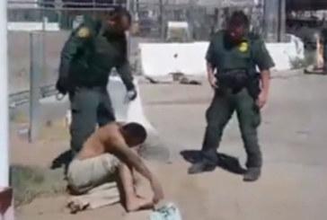 """Patrulheiros tentam """"desovar"""" homem ferido no lado mexicano"""