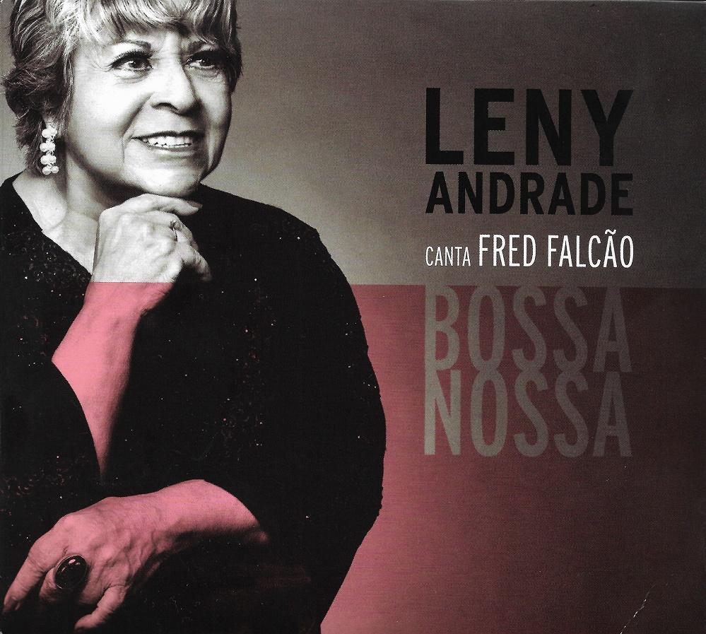 Capa CD Leny Andrade canta Fred Falcao Admirável e profícua união