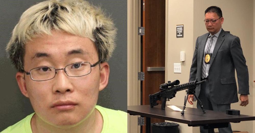 Foto19 Wenliang Sun Estudante preso por comprar rifles é deportado