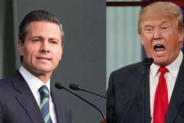"""""""Não agora, nem nunca"""", responde Nieto ao muro proposto por Trump"""