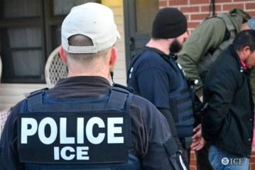 Batidas do ICE prendem 78 imigrantes em 5 estados