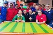 """Brasileiros realizam """"Copa"""" de futebol de botão em Nova York"""