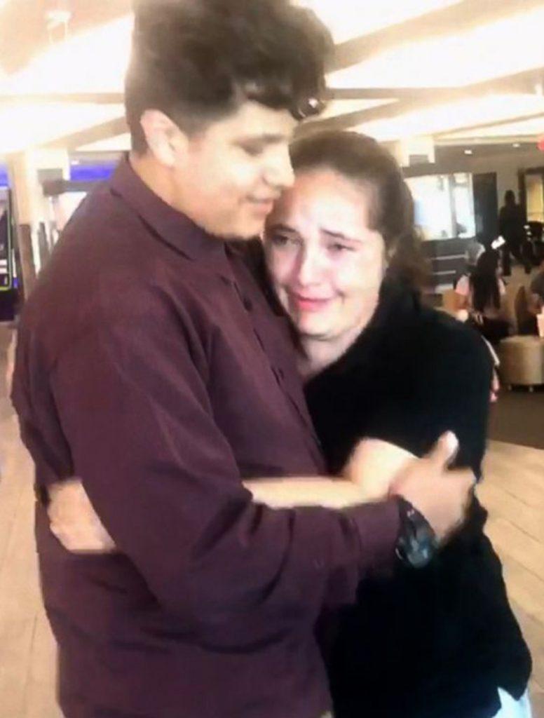 Foto10 Jocelyn e James Brasileira reencontra o filho após 8 meses de separação nos EUA