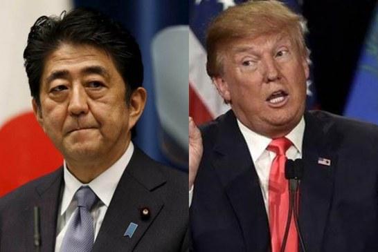 Trump disse a Shinzo que enviaria 25 milhões de mexicanos ao Japão
