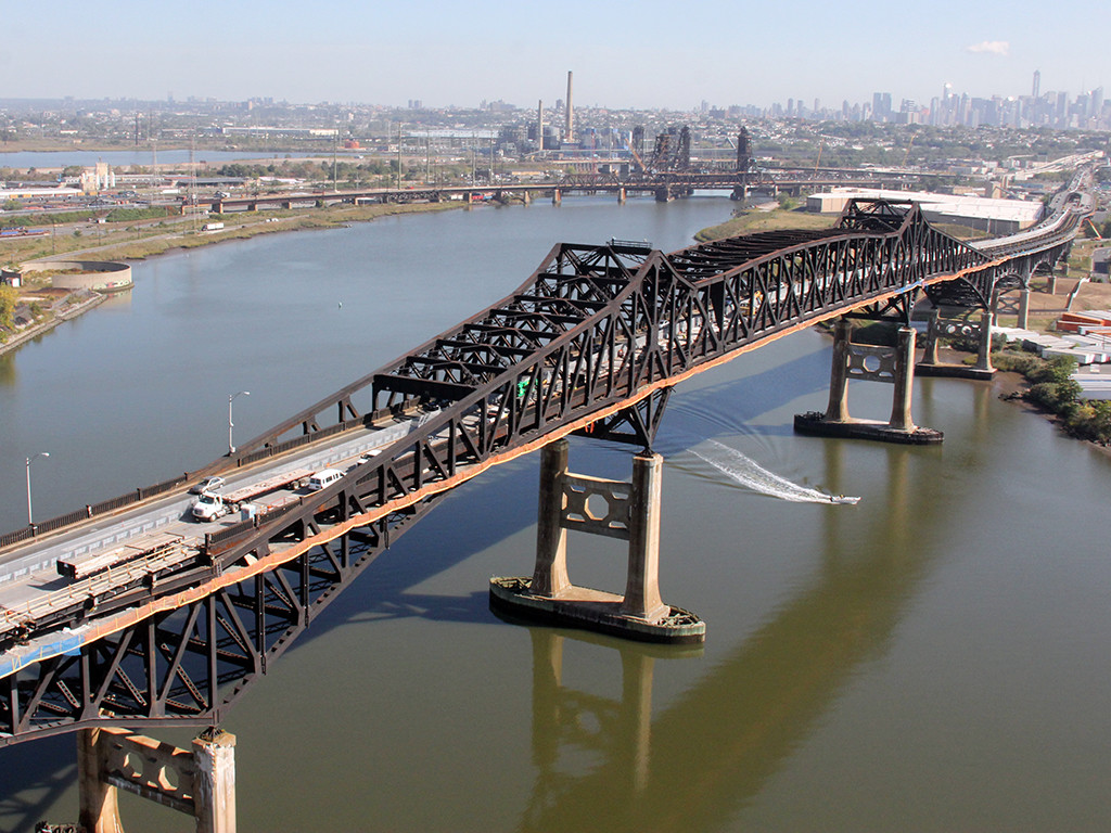 Foto18 Pulaski Skyway Governo confirma a data de reabertura do Pulaski Skyway