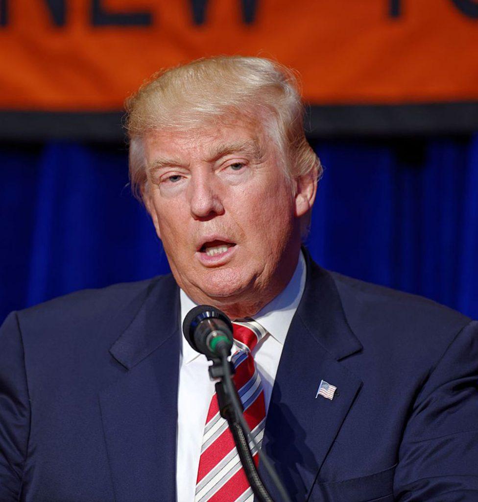 Foto19 Donald Trump Após rejeitá la, Trump apoia proposta de reforma migratória do GOP