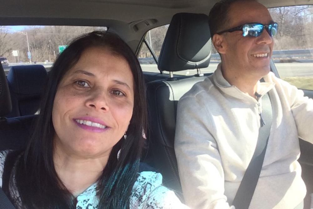 Foto21 Rosemary Coererea e Luiz Jimenez Marido de brasileira perde a luta contra câncer de fígado em CT