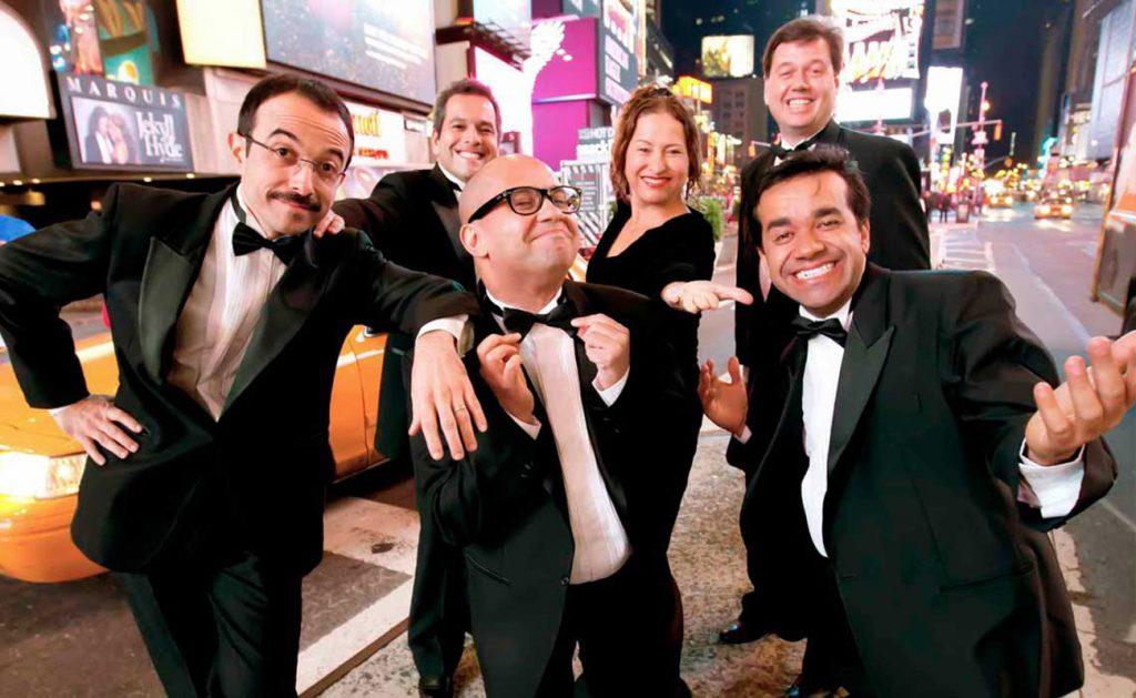 """Foto25 Companhia de Comedia os Melhores do Mundo Companhia """"Os Melhores do Mundo"""" se apresenta em Astoria"""