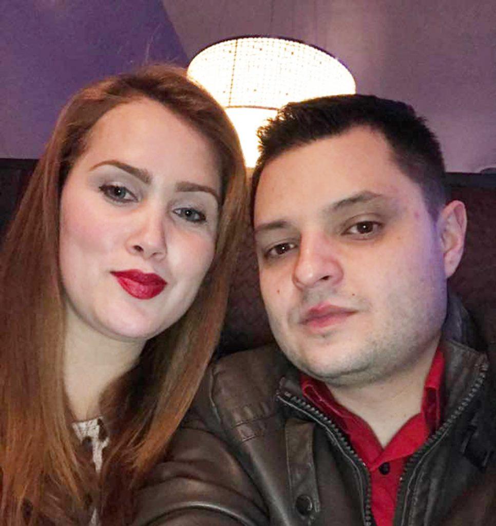 Foto9 Pollyana e Andres Cardona  Estudante brasileira morre em acidente de moto no Missouri
