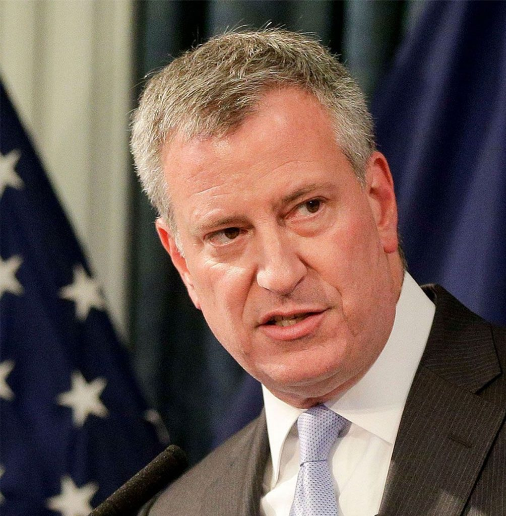 Foto15 Bill de Blasio  Prefeito de Nova York pede o fim do ICE