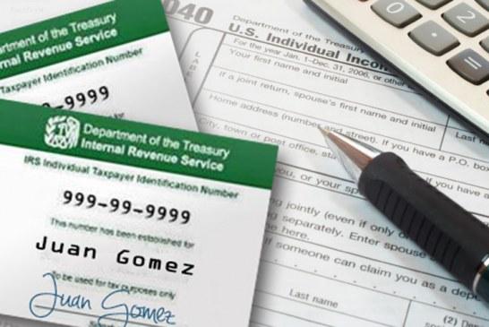 Números do ITIN devem ser renovados antes do imposto de renda