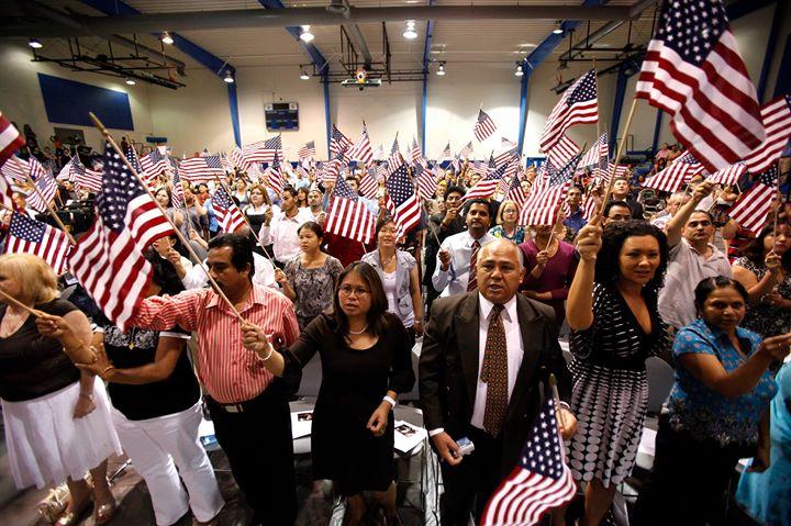Foto17 Cerimonia de naturalizacao EUA disponibiliza US$ 10 milhões para ajudar residentes legais a se tornarem cidadãos