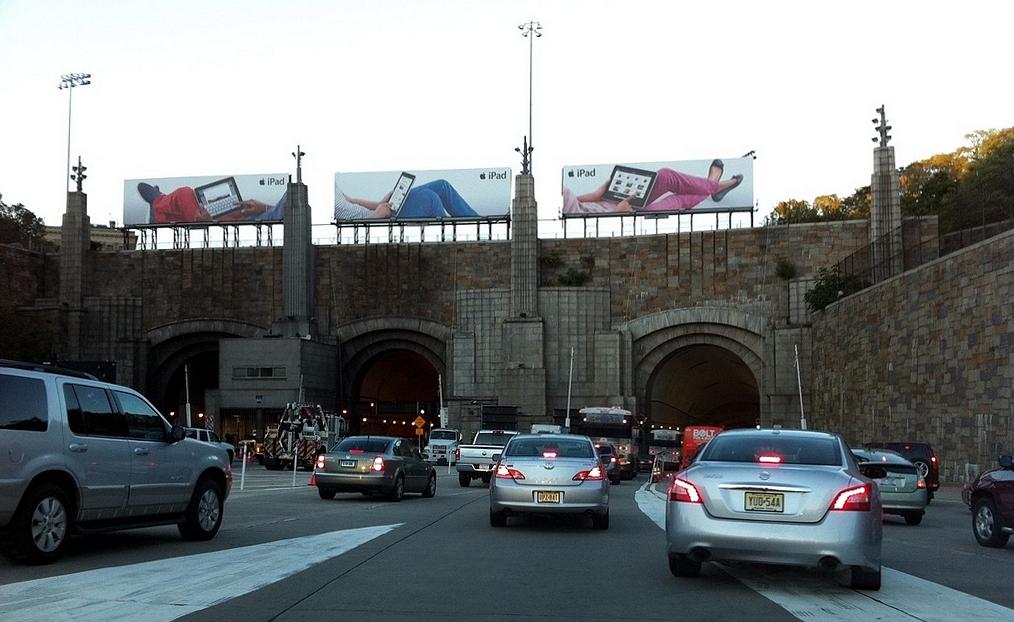 Foto24 Tunel Lincoln Viaduto na entrada do túnel Lincoln será fechado por 2 anos e meio