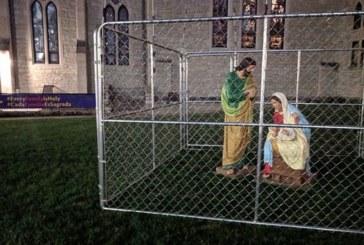 "Igreja protesta pondo Jesus, Maria e José em ""cela do ICE"""
