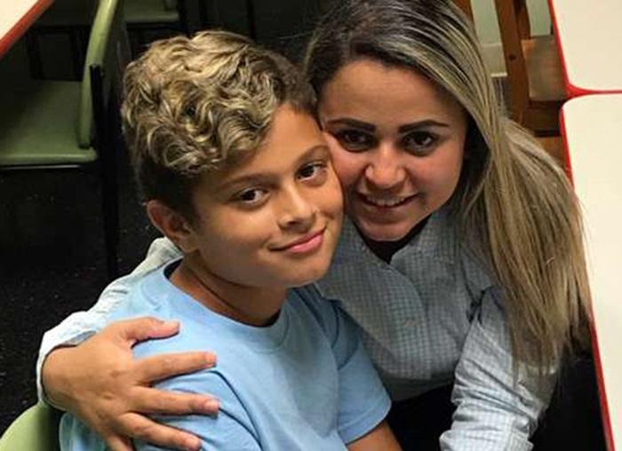 Foto5 Sirley Silveira Paixao e Diego Juiz ordena liberação de filho separado de brasileira na fronteira