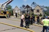 Casa de pastores pega fogo enquanto viajavam ao Brasil