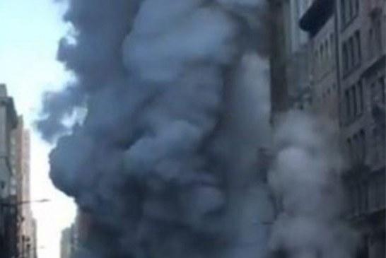 Cano de gás explode e fere 5 pessoas em Nova York