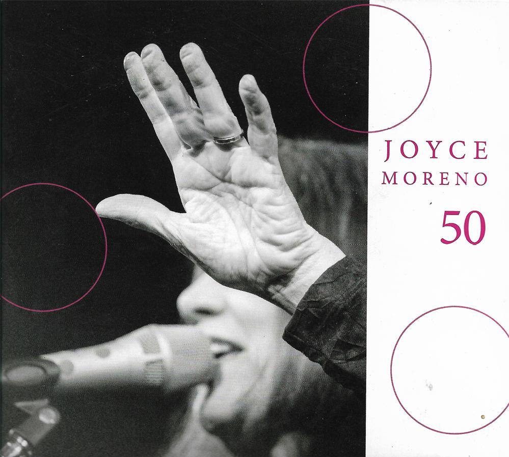 Capa CD Joyce Moreno 50 Querida Joyce Moreno