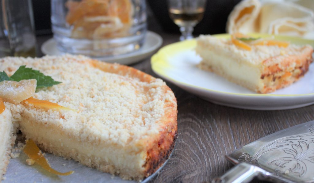 Cheesecake de queijo cottage com iogurte Cheesecake de queijo cottage com iogurte