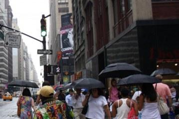 NJ: Fim de semana prolongado tem previsão de chuva