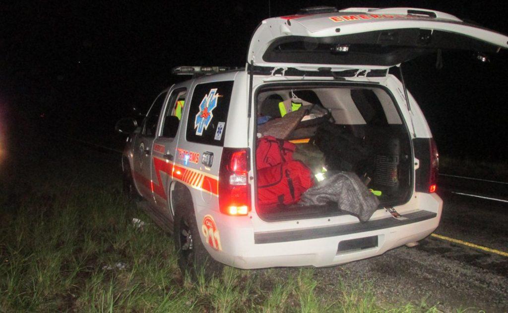 Foto2 Ambulancia falsa Brasileiros tentam entrar nos EUA a bordo de ambulância falsa