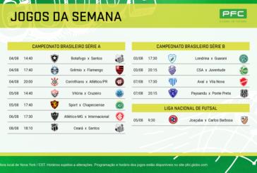 No Brasileirão a bola não para de rolar no PFC