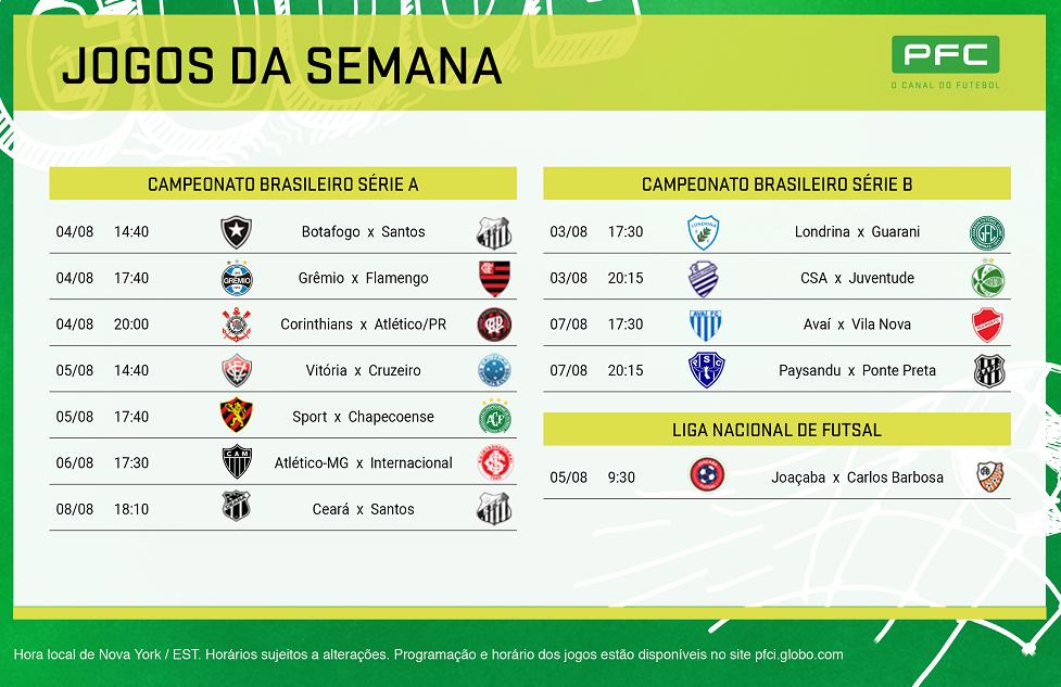 Print ago1 No Brasileirão a bola não para de rolar no PFC