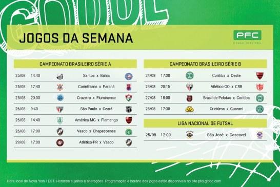 Returno do Brasileirão começa com tudo no PFC