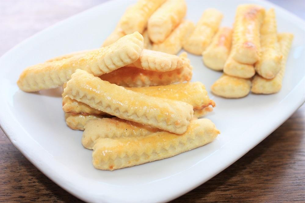 Biscoitos palitinhos salgados Biscoitos palitinhos salgados