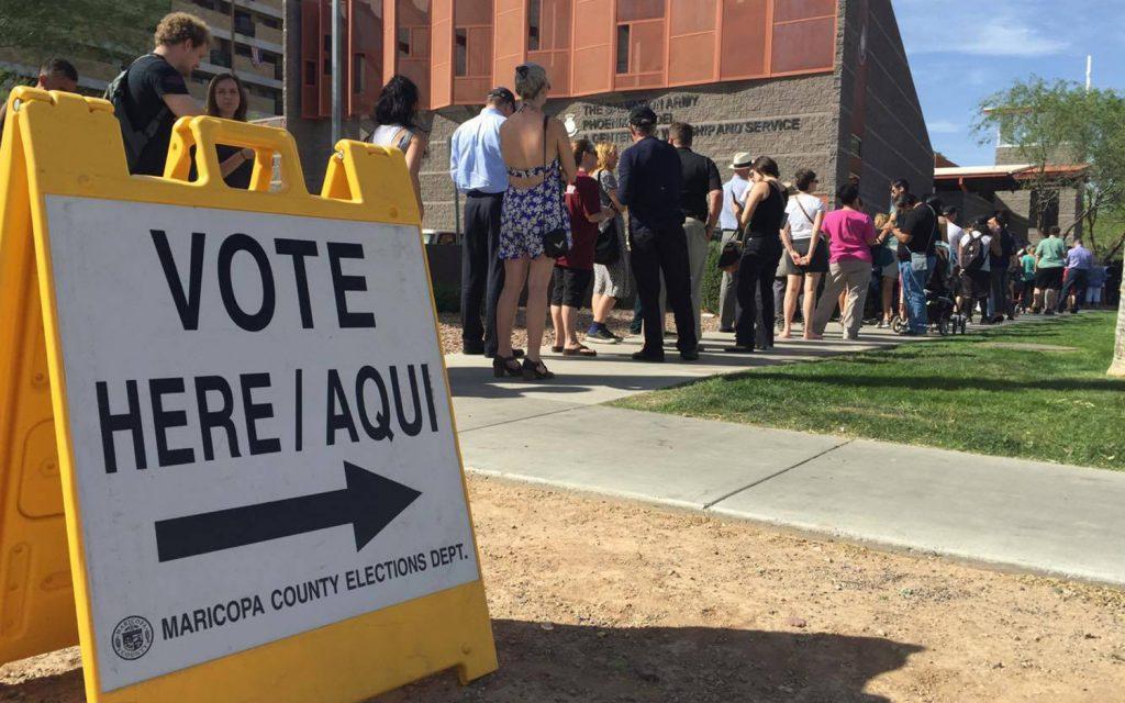 Foto18 Eleicoes EUA Imigrantes legais podem ser presos e deportados por votar nas eleições dos EUA