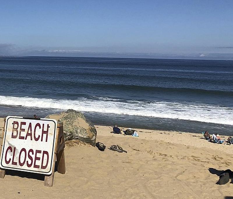 """Foto2 Newcomb Hollow Beach Tia de brasileiro morto """"implorou"""" que ele não entrasse no mar"""