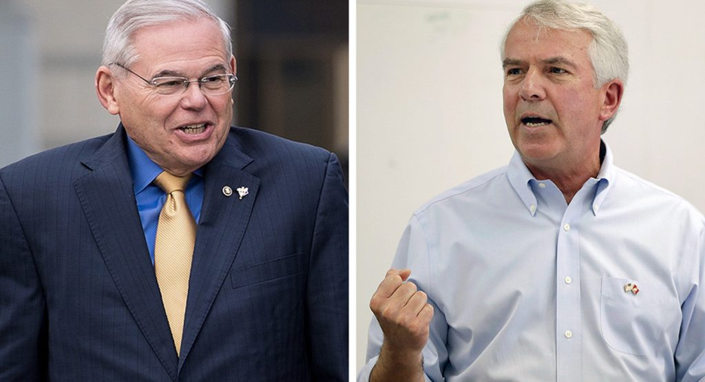 Foto9 Robert Menendez e Bob Hugin NJ: Oponente republicano de Menendez diz que apoia reforma migratória