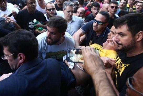Bolsonaro é esfaqueado em Juiz de Fora: veja vídeo