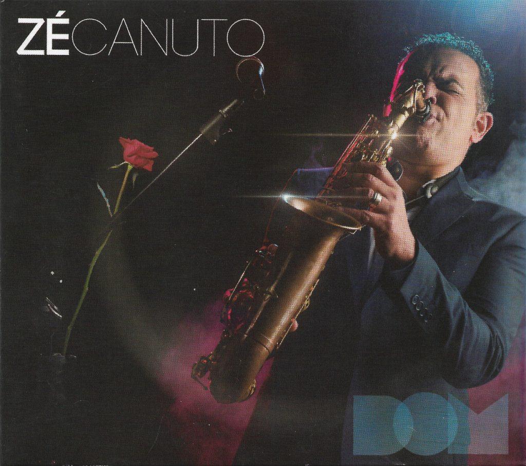 Capa CD Ze Canuto O sax romântico de Zé Canuto