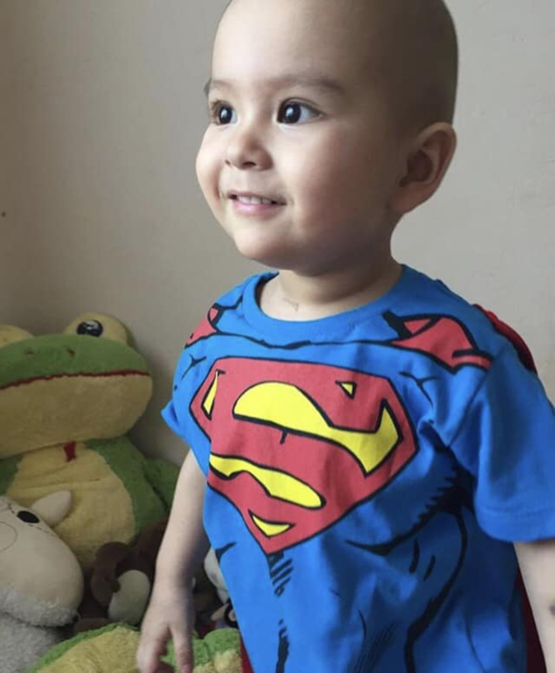Foto1 Joao Miguel Tomoto Brasileirinho busca doador de medula óssea compatível