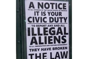 Panfletos espalhados em Queens encorajam a denúncia de indocumentados ao ICE