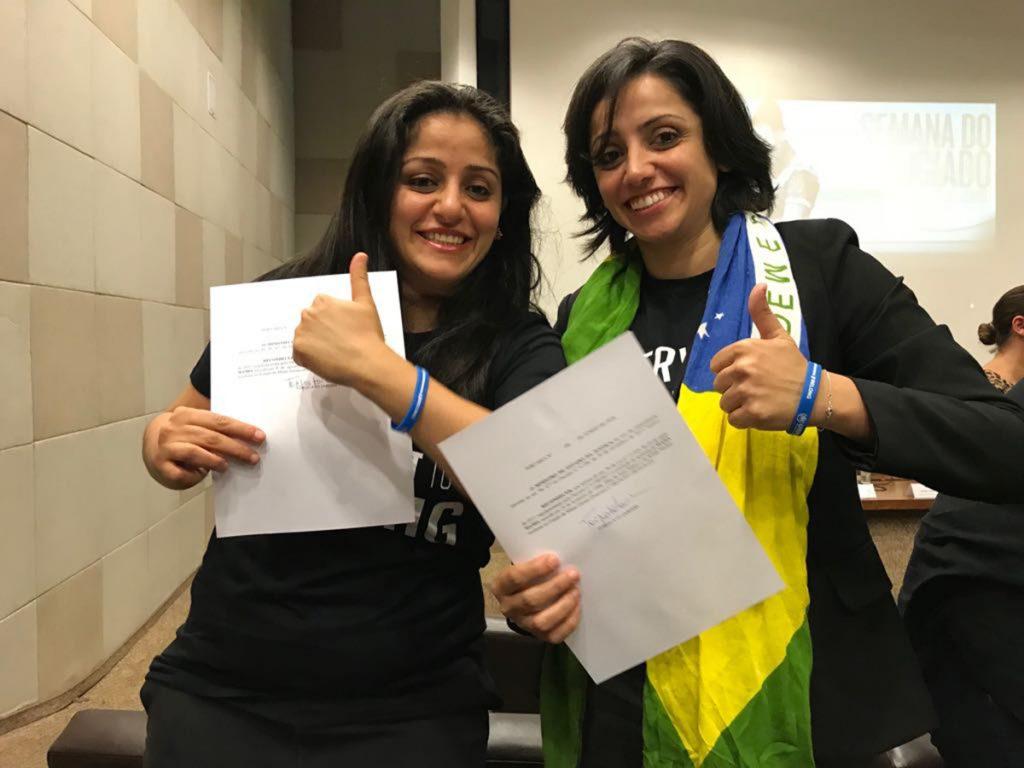 Foto16 Maha e Souad Mamo Irmãs apátridas adquirem a nacionalidade brasileira