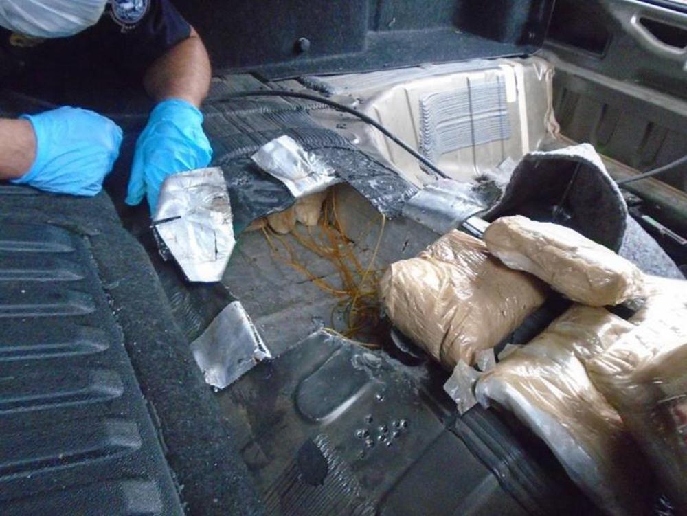 Foto6 Heroina confiscada Patrulheiros confiscam US$ 1 milhão em heroína no Arizona