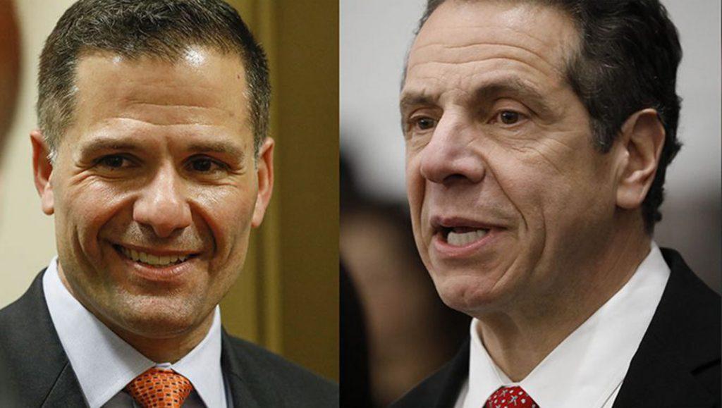Foto9 Marc Molinaro e Andrew Cuomo Cuomo ainda lidera Molinaro a 3 semanas das eleições em NY