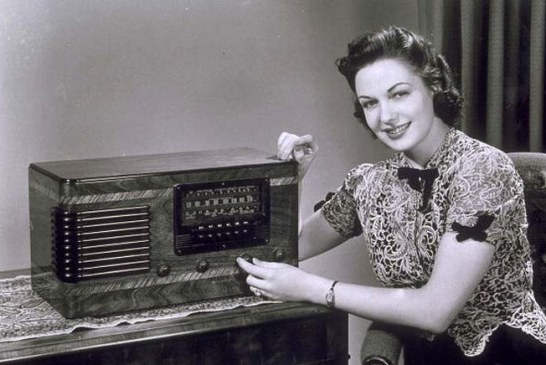 Na era do rádio