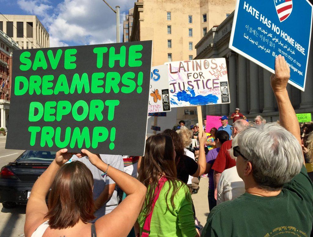 Foto11 Protesto DACA Trump não pode cancelar o DACA, proíbe juiz