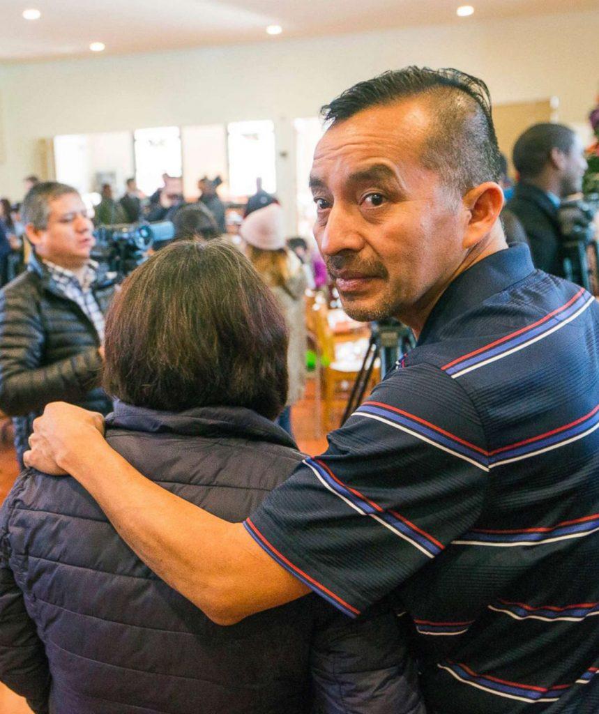 Foto13 Samuel Oliver Bruno ICE prende indocumentado que buscou refúgio em igreja