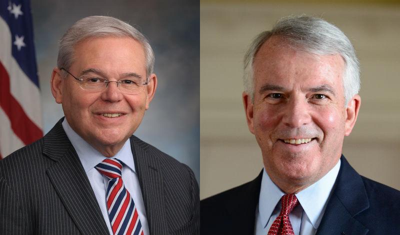 Foto17 Robert Menendez e Bob Hugin Menendez lidera pesquisas a poucos dias das eleições em NJ