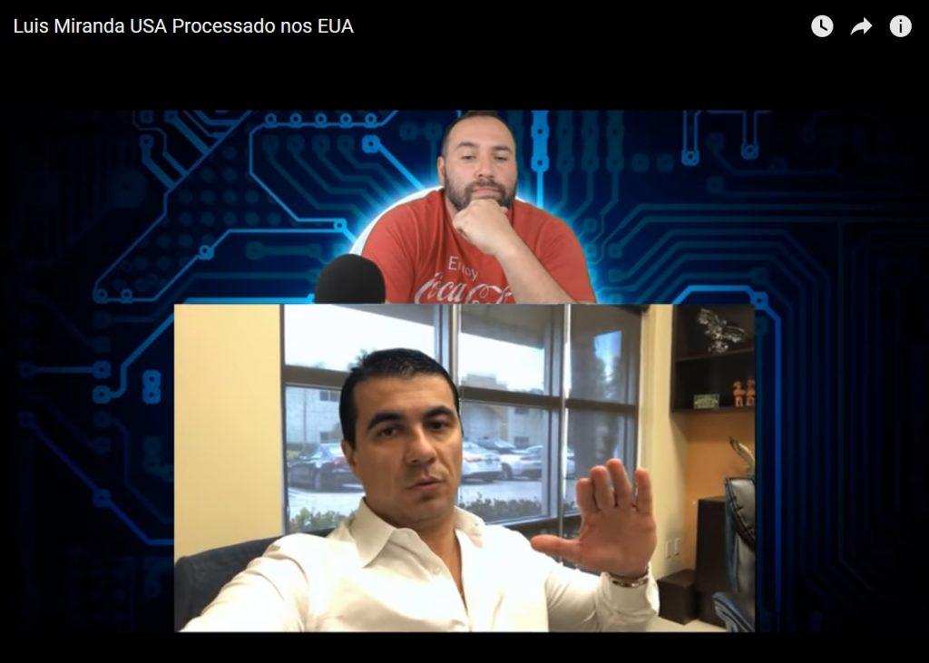 Foto28 Lauri e Luis Claudio F. Miranda  YouTuber denuncia ex imigrante que se elegeu deputado federal no Brasil